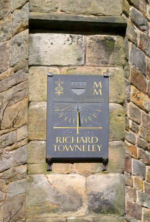 alan: Towneley Hall Society commissioned Alan Smith to create a sundial in Towneley Park to commemorate Richard Towneley