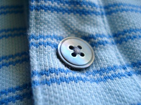 Single Blue Button