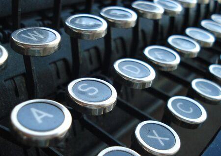 Little Round Typewriter Keys