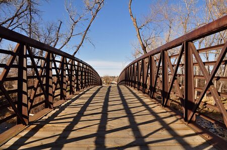expanse: Bridge Expanse Stock Photo
