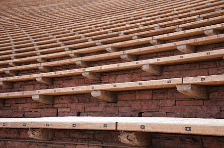 Bench Seating at Red Rocks Amphitheater