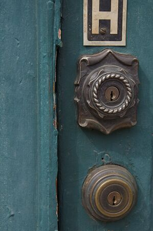 deadbolt: Deadbolts on Green Door