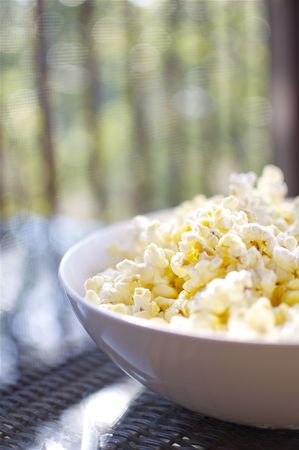 Lifestyle - Bowl of Popcorn Stock Photo - 8215463