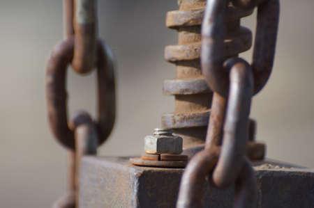 Rusty Chain Detail