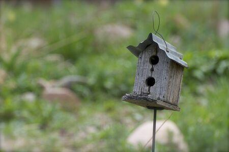 Rustic Old Birdhouse