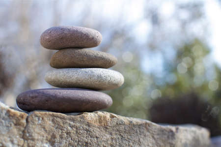 Smooth Stone Arrangement