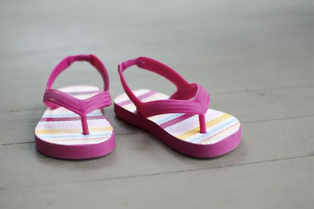 Little Girl Sandals in Detail