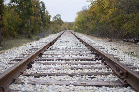 Train Tracks Background