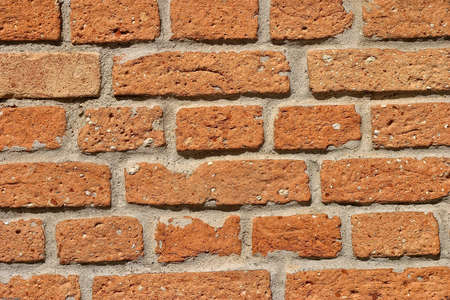 Detail of texture brickwall, with difuse light photo