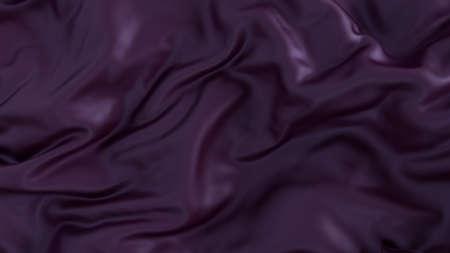 Violet silk fabric wrinkled for background. Stock fotó
