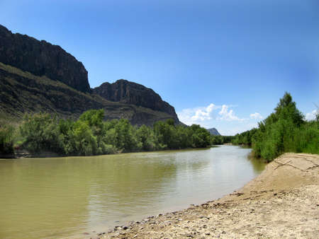 grande: Rio Grande in Big Bend national Park