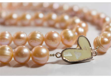freshwater pearl: Heart of Pearls