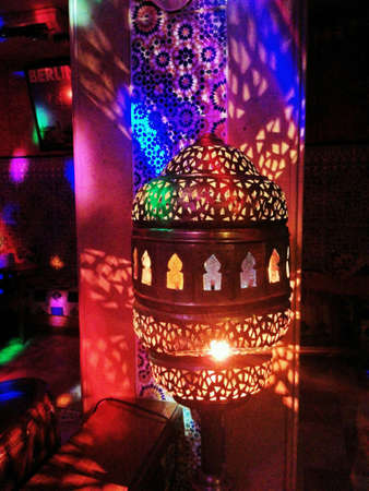 colour: Arabian night life