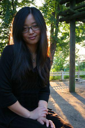 Beautiful Asian woman Stock Photo - 288324