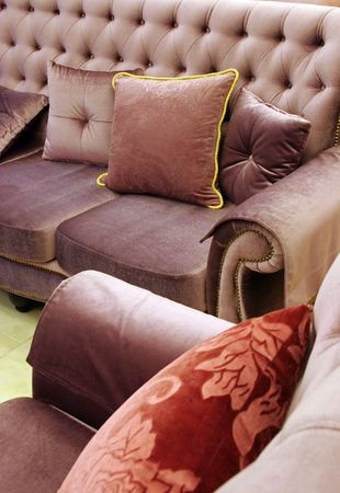 Sofa and chair photo