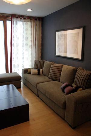 Luxury Wohnzimmer in ein modernes Haus