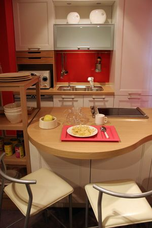 Kitchen in a modern home - home interiors photo