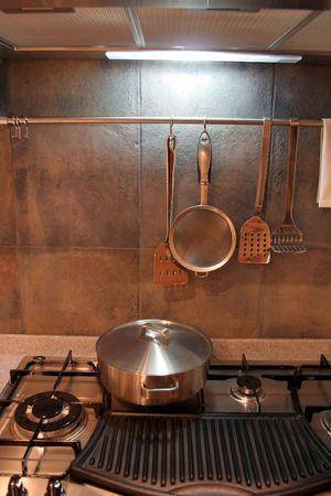 Modern kitchen - home interiors Stock Photo - 305030
