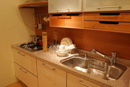 interni casa: Cucina moderna - home interni  Archivio Fotografico