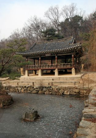 folk village: Korean building at Suwon Folk Village, South Korea