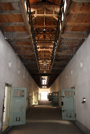 slammer: Seodaemun Prison History Hall, Seoul, South Korea was forcibly built during the Japanese occupation (1910-45). Stock Photo