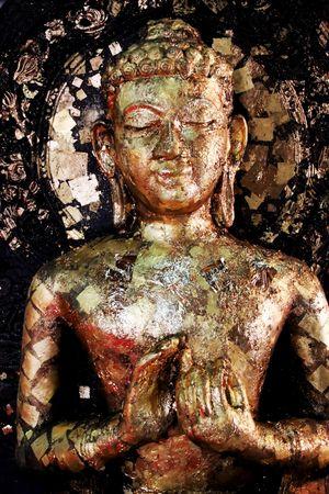 Buddhist statue from Thailand photo