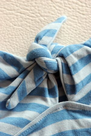 Close-up of bow on a t-shirt Stock Photo - 505469
