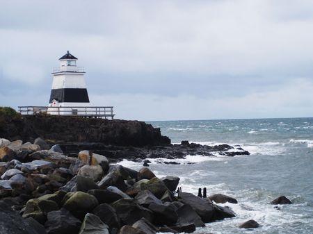 Nova Scotia: Lighthouse in Nova Scotia, Canada