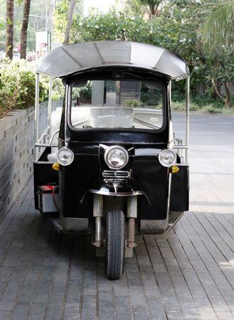 A Thai taxi (tuk tuk) - travel and tourism. Stock Photo - 2748447