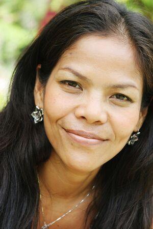 Happy Thai femme Banque d'images - 3568177