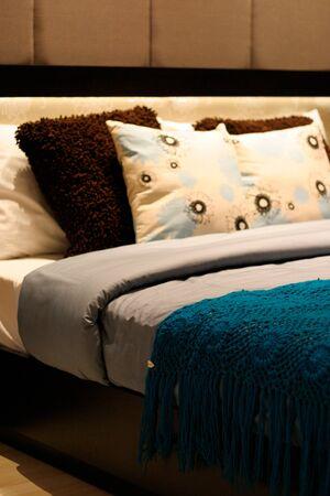 Modern bedroom interior. Stock Photo - 4212985
