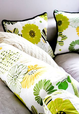 Sofa - modern home inters. Stock Photo - 4570187