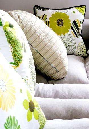 Sofa - modern home interiors. Stock Photo - 4570188