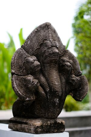Statue in a garden - tropical Thailand. Stock Photo - 4585317