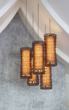 lighting fixtures: Accesorios de iluminaci�n moderna - interiores de la casa.