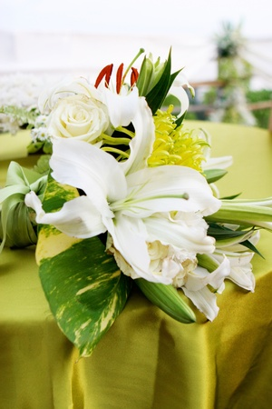 Beautiful flowers at a Western wedding ceremony. Stock Photo - 10109219