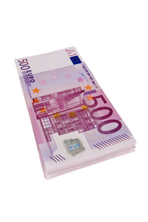 euromoney: 500 Euro Stock Photo