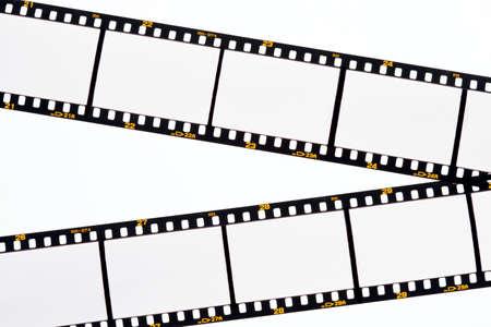 Blank images on a slide film