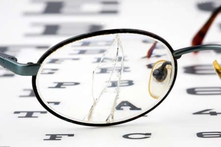 defects: Eye test by an optican