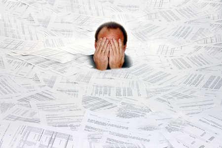Stress durch B�rokratie und Papier-Ablage
