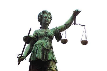 justitia: Los derechos de autor por Erwin Wodicka, Siedlerzeile 3, A-4062 Thening, Foto de archivo