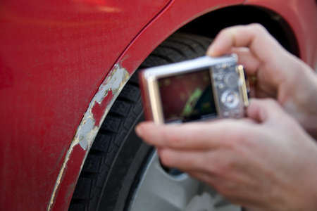 Assessment of an accident damage photo