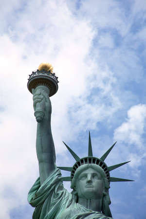 Statue of Liberty in New York, America photo