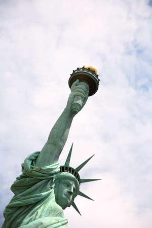 Statue of Liberty in New York, America photo