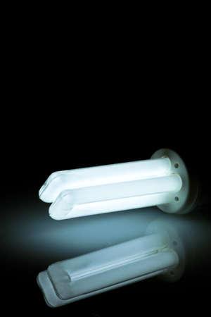 risparmio energetico: Energia - Salvataggio della lampada con il risparmio di energia rispettosa dell'ambiente