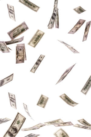 Image for photo wealth. Many American dollar bills Stock Photo - 7808359