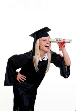 Junge Frau mit Hut Arzt nach Arbeit suchen: