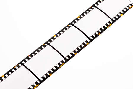 Film strips for APGVis with text space. Blank Dia 35mm film. photo