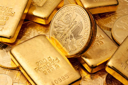 Gold coin: Investment in real gold than gold bullion and gold coins. Feingold. Kho ảnh