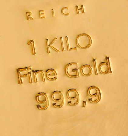 Investment in real gold than gold bullion and gold coins. Feingold. photo
